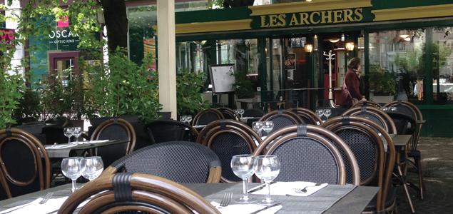 Brasserie des Archers restaurant terrasse Grenoble