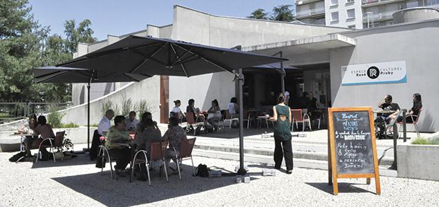 Le Bistrot de la Mixture  restaurant terrasse Saint-Martin-d'Hères