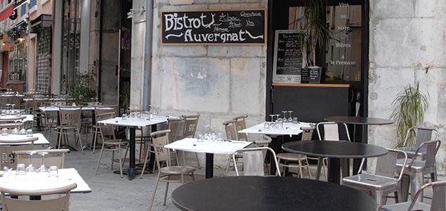 Bistrot Auvergnat restaurant terrasse Grenoble