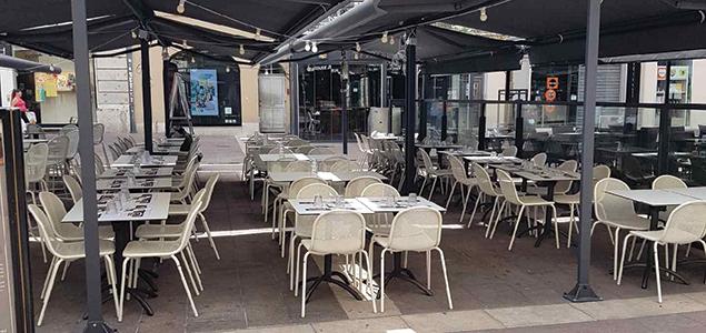 Le Café Leffe  restaurant terrasse Grenoble