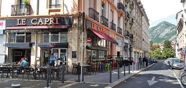 Le Capri restaurant terrasse Grenoble