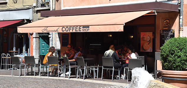 Le French Coffee Shop Claveyson restaurant terrasse Grenoble