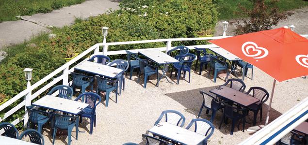 Le Piano Du Lac restaurant terrasse Laffrey
