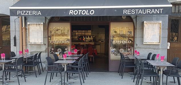 Il Rotolo restaurant terrasse Grenoble