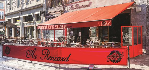 Au Rencard restaurant terrasse GRENOBLE