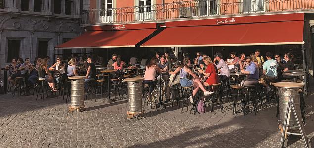 Bacetto restaurant terrasse GRENOBLE