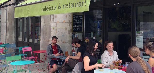 K fée des jeux restaurant terrasse GRENOBLE