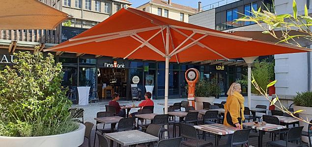 L'InsTant restaurant terrasse GRENOBLE