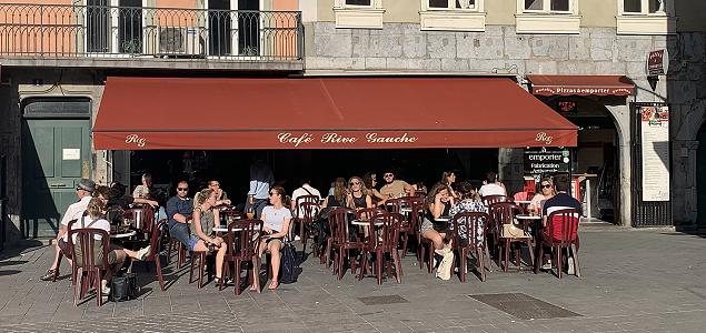 Rive Gauche restaurant terrasse GRENOBLE