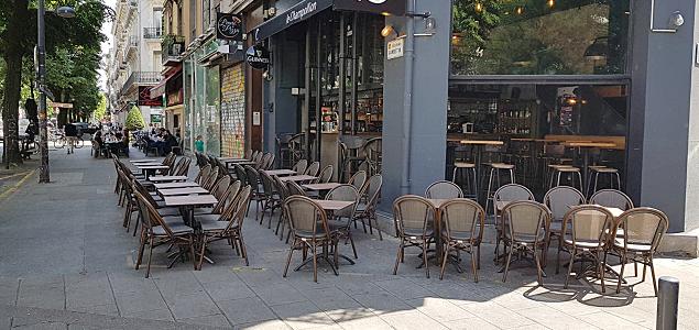 Le Champollion restaurant terrasse Grenoble