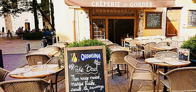 Crêperie de Gordes restaurant terrasse GRENOBLE