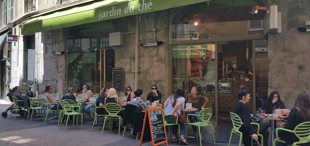 Jardin du Thé restaurant terrasse Grenoble