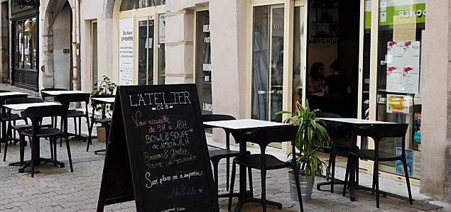 L'Atelier CGB restaurant terrasse GRENOBLE