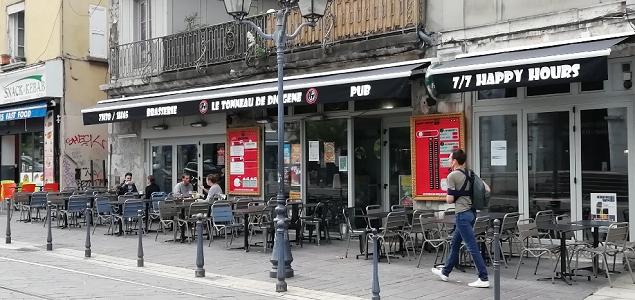Tonneau de Diogène restaurant terrasse GRENOBLE